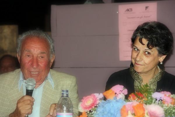 """Gaspare Agnello & Simonetta Agnello ad Agrigento 11.Ago.'10 per il libro """"Camera Oscura"""""""