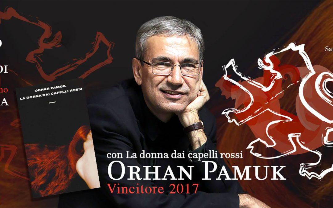 Orhan Pamuk Vince il Premio Letterario Giuseppe Tomasi di Lampedusa 2017