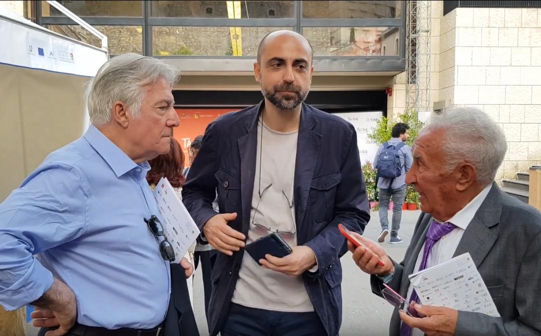 Matteo Collura e Fabrizio Catalano a #Taobuk per parlare di Leonardo Sciascia
