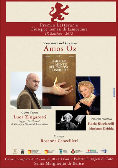 VIDEO – Premio Letterario Tomasi di Lampedusa 2012
